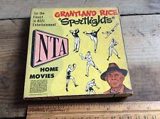 Vintage NTA Home Movies 1626 Canine Thrills 8mm Reel , Grantland Rice