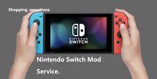 Software de instalación de firmware personalizado Nintendo Switch servicio Mod.