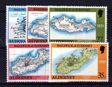 AURIGNY - ALDERNEY Yvert n° 37/41 neuf sans charnière MNH