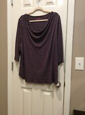 Women��s Plus Size 2X Or 26/28 Blouse By Woman Within