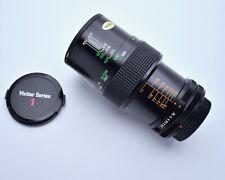 Vivitar Auto Macro 55mm f2.8 Lens Canon FD Mount Komine Classic 1/1 Caps (#4165)