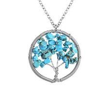 Turquoise Stone Statement Costume Necklaces & Pendants