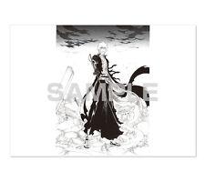 BLEACH Ichigo Planche de Manga reproduction officielle Dessin Draw Poster Papier