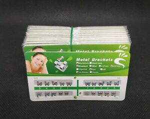 20 Packs Orthodontic Brackets Monoblock Standard Roth 022 345 Hooks Mesh Base