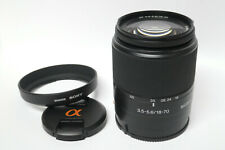 Sony DT 18-70 mm  Objektiv für SONY A-Mount Kameras gebraucht