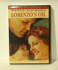 Lorenzo's Oil (DVD, 2004) NEW AUTHENTIC REGION 1 - Susan Sarandon Nick Nolte