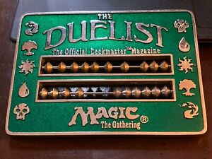 Magic the Gathering Green Abacus Duelist Life Counter Vintage MTG 1996
