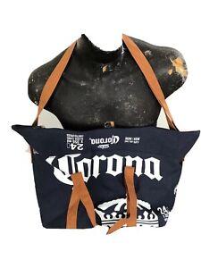 Travel Tote Bag Cooler Bag Zip Closure 24 x 355ml Sleek Cans  Corona Beer