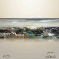 Abstract Original Modern Painting Art Wall decor Landscape Seascape #742