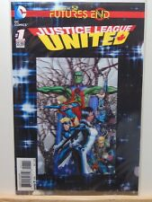 Justice League United #1 Futures End Lenticular D.C. Universe Comics CB4388