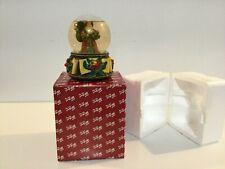 "San Francisco Music Box Co Holiday Santa Snow Globe Music ""Chestnuts Roasting"""