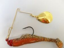 Strike King Magic Spinnerbait - 1/4oz - New Penny, Cod Bass Yellowbelly Lure
