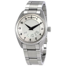 Bell and Ross Fusion Silver Dial Analog Digital Mens Watch FUSION-GREY-S