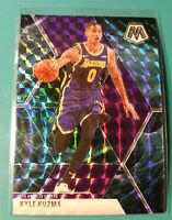 2019-20 Panini Mosaic #28 Kyle Kuzma Genesis SSP Prizm Rare MINT Lakers 🔥