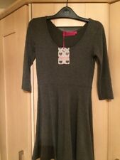 Boohoo Dress 10 grey new t shirt soft fabric