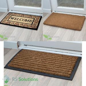 Bruce Starke Coir Entrance Mats Non Slip Designer Indoor Outdoor Doormats