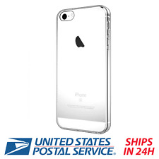 For Apple iPhone SE 5S 5 Case Soft TPU Silicone Clear Protective Rubber Cover