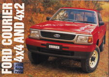 1997 FORD COURIER UTE 2WD & 4WD Australian 8p Brochure like MAZDA B-SERIES