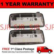 2X FOR ROLLS ROYCE PHANTOM RR2 DROPHEAD RR3 COUPE 18 LED FOOTWELL BOOT LAMP