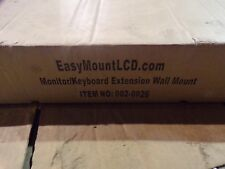 NEW  Easy Mount Monitor/Keyboard Extension Wall Mount 002-0026 *FREE SHIPPING*