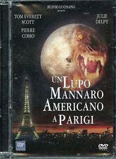 Un Lupo Mannaro Americano A Parigi (1997) DVD Edizione Jewel Box