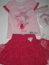 NWT New Naartjie Princess Jie Jie Fairy SET Pink Top Skirt  12 - 18 months