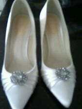 Paradox High (3-4.5 in.) Satin Bridal Shoes