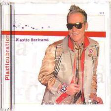 CD single Plastic BERTRAND Plastcubration  promo 2 track EUROVISION STAR !