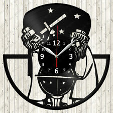 Astronomy Vinyl Record Wall Clock Decor Handmade 2577