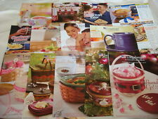 Longaberger 2 Catalogs and 13 Flyers FOR THE WHOLE YEAR of 2010 in one place NEW