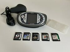 Nokia N-Gage QD Mobile Phone Console Bundle - 5 Games - Working Tested - GC