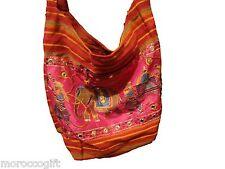 Handmade Indian woven cotton  bag