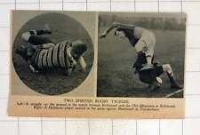 1920 Two Spirited Rugby Tackles Richmond Old Alleynians Harlequins Blackheath