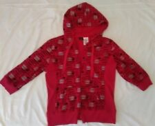 Disney Hannah Montana Red Junior xl Hoodie with Pockets                        I