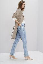 69be859ef38ea1 Heritage Demin Premium Slim Leg Jeans Size UK 12 Beach Wash Dh077 DD 14