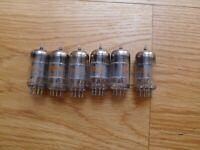 6 x RCA 12ax7  ECC83 tubes