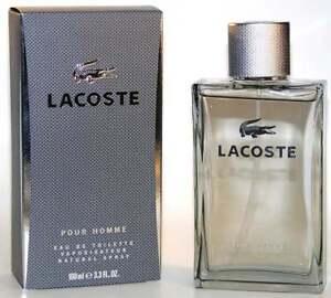 Lacoste Pour Homme eau de Toilette Spray 100 ml. Neu & Originalverpackt !