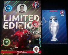 XXL Limited Edition SHINY - Ronaldo - Panini Adrenalyn XL UEFA Euro 2016 France