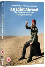 AN IDIOT ABROAD - SERIES 1 AND 2 - DVD - REGION 2 UK