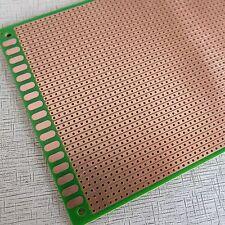 2x Stripboard vero Prototyping 10x20cm FR4 Fibreglass uncut pcb circuit board