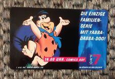 COMIC Telefonkarte 6 DM, Pro 7, F.Feuerstein,  Sammlerstück, neu und unbenutzt,