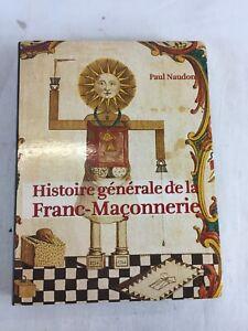 LIVRE PAUL NAUDON Histoire de la Franc-Maconnerie edition CHARLES MOREAU 2004 B6