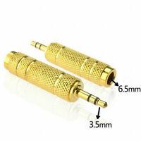 3,5 mm mâle à 6,5 mm adaptateur femelle 3,5 fiche à 6,35 Jack stéréo adaptateur