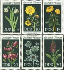 DDR (RDA) 1456-1461 (completa.edición) usado 1969 plantas