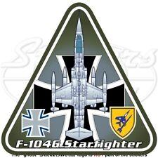 F-104 STARFIGHTER ALLEMAGNE Lockheed F-104G Allemand Aérienne Autocollant