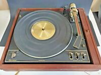 Vintage Garrard Synchro Lab 95B Turntable w/Beautiful Wood Base Made TESTED WORK