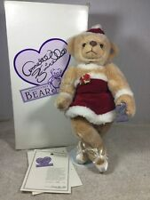 Annette Funicello Let It Snow Bear Scrapbook Bears Ballerina Christmas Bear