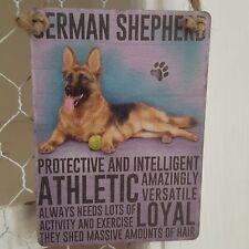 Dog German Decorative Indoor Signs/Plaques