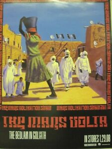 THE MARS VOLTA 2008 Bedlam In Goliath 2 side promo poster Flawless New Old Stock
