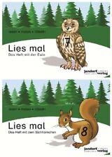 Das Heft mit der Eule / Das Heft mit dem Eichhörnchen, 2 Bde. Wachendorf, Peter
